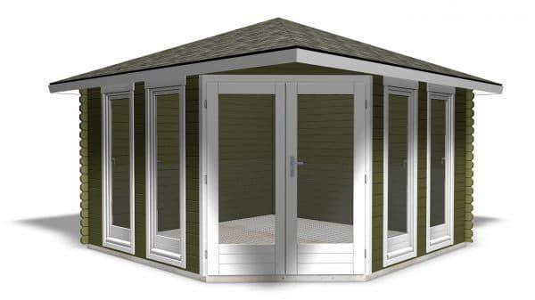 Corner Cabin 40mm Chelsea 3.6mx3.6m 2