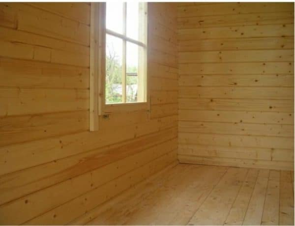 Corner Cabin 40mm Emma 4.5mx3m 5