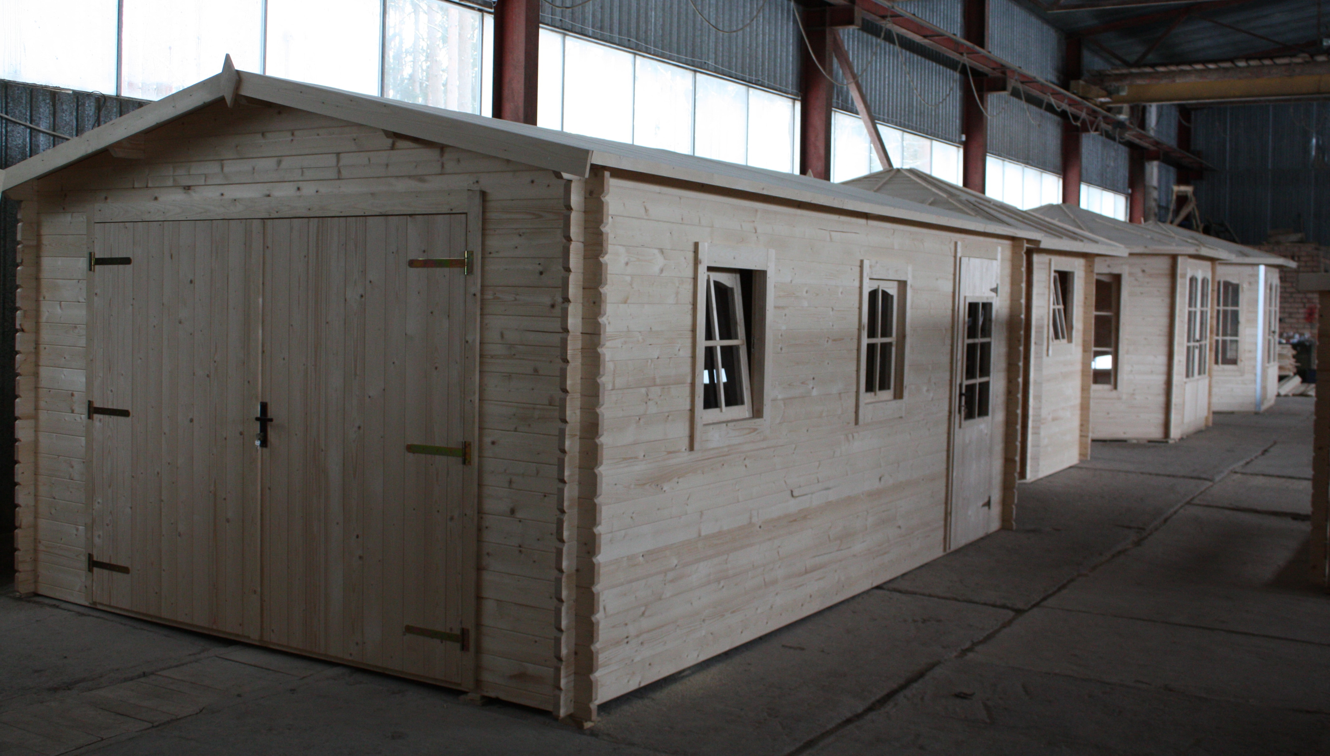 wooden garage uk al timber