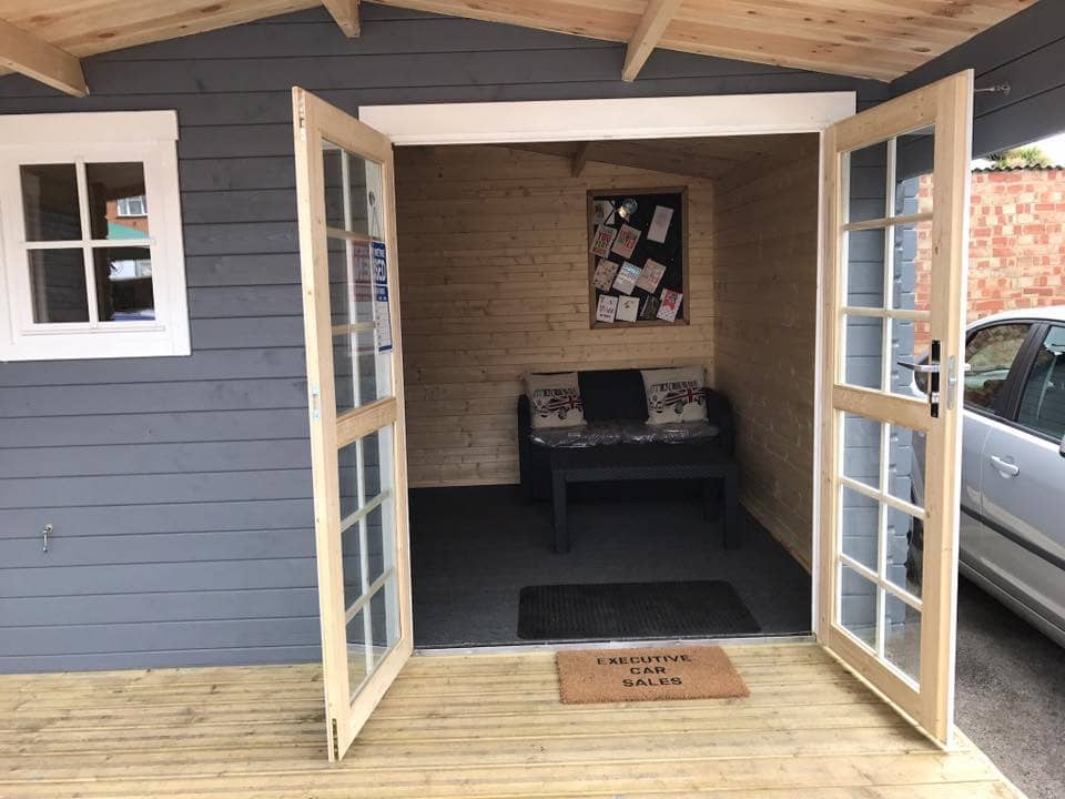 Garden Office uk al timber