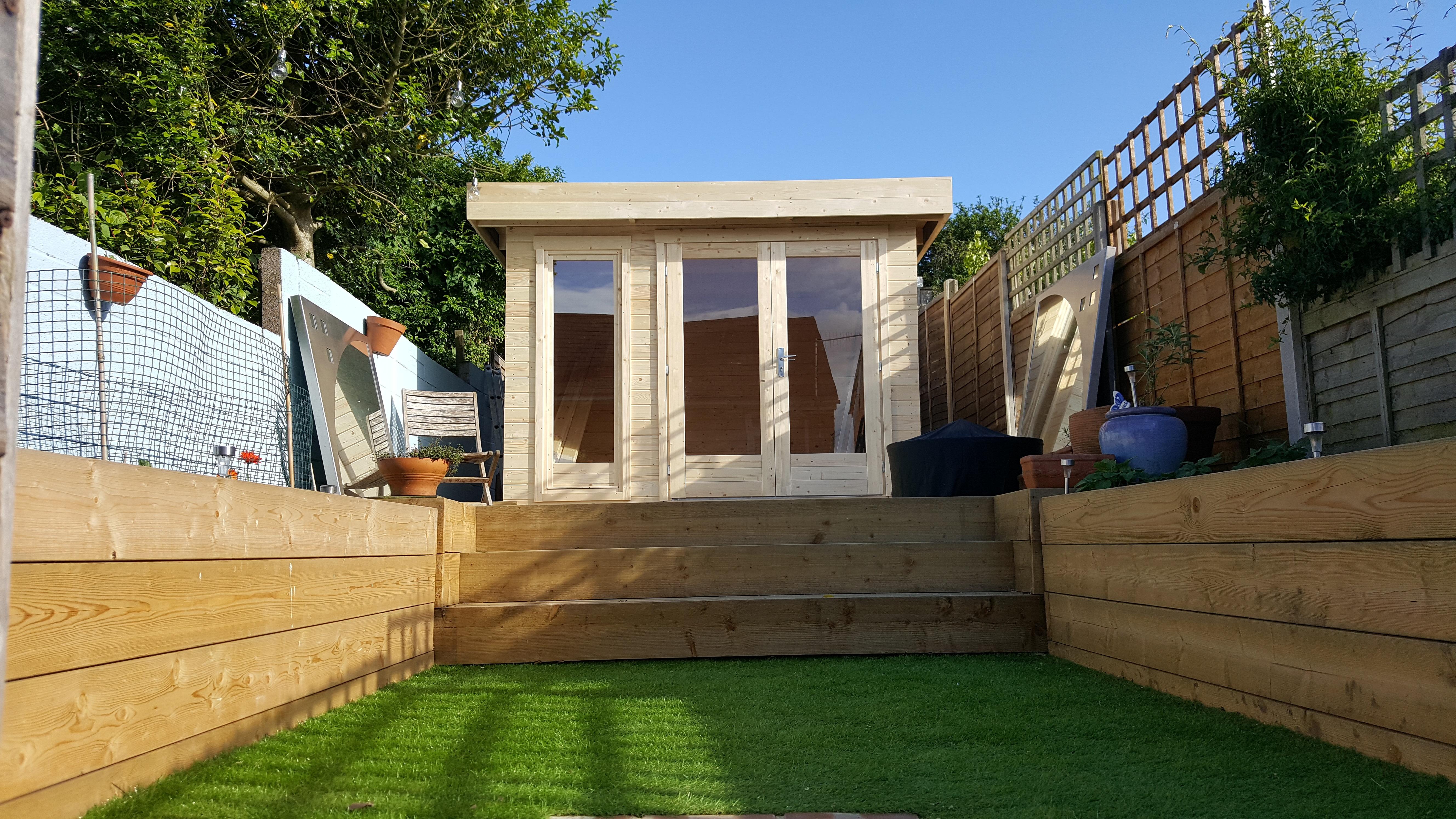 Garden Office uk al timber