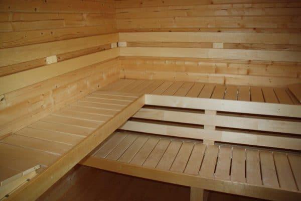 Garden Sauna 40mm Odisea 4mx4m 4