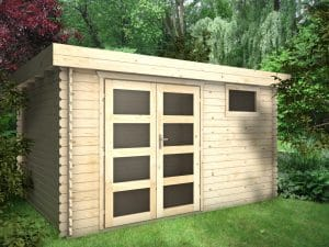 Garden Shed 28mm Leo 3.9mx3m main