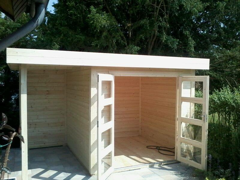 Garden shed uk al timber