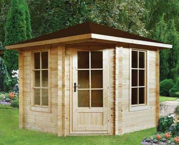 Log Cabin Daniella 2.6mx2.6m main