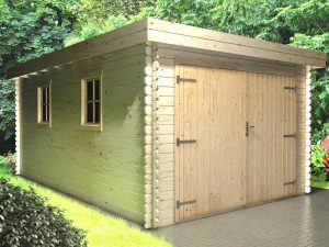 Wooden Garage 3.3mx5.1m main