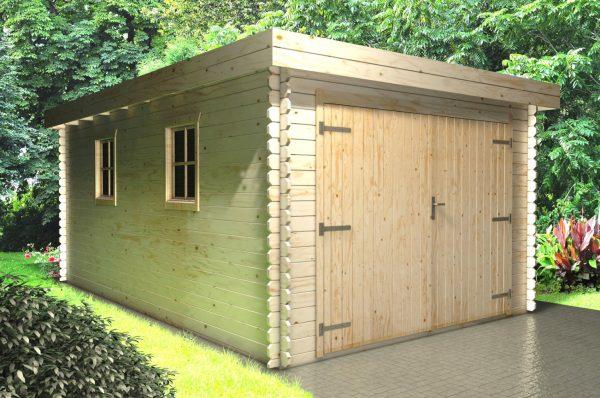 Wooden Garage 3.3mx5.1m main
