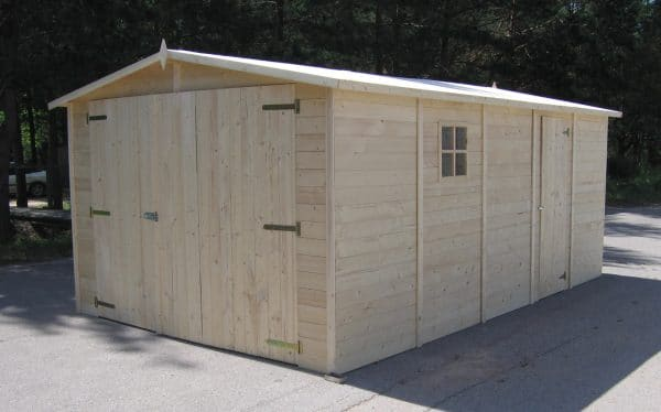 Wooden Garage:Workshop19mm 6mx3m main