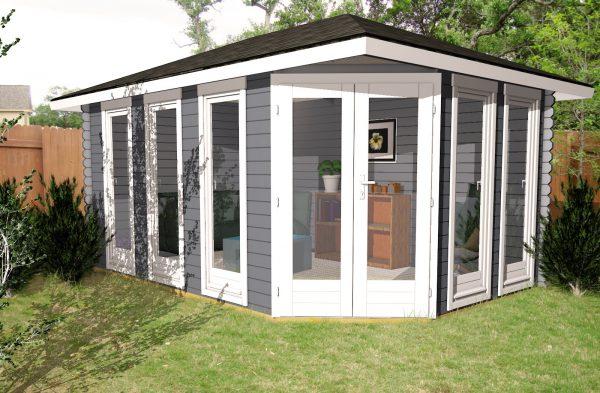 Corner Cabin Marb3
