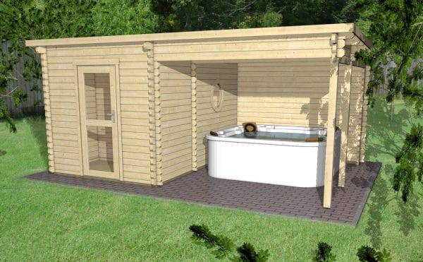 GARDEN Sauna 45007 AL timber