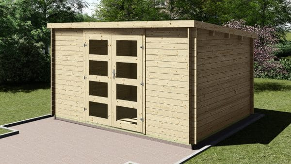 Garden Shed 3.9mx3m